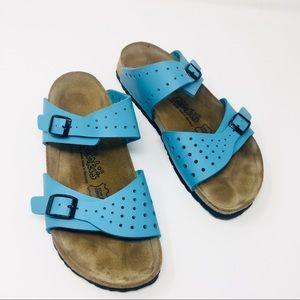Birkis two strap Sandals sz 39 like new!